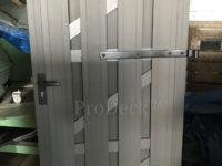 Luxe deur met massieve planken ant ant met ant beslag