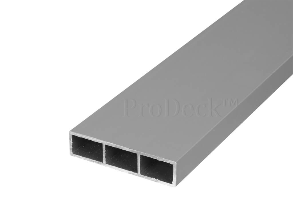 Dwarsbalk aluminium grijs