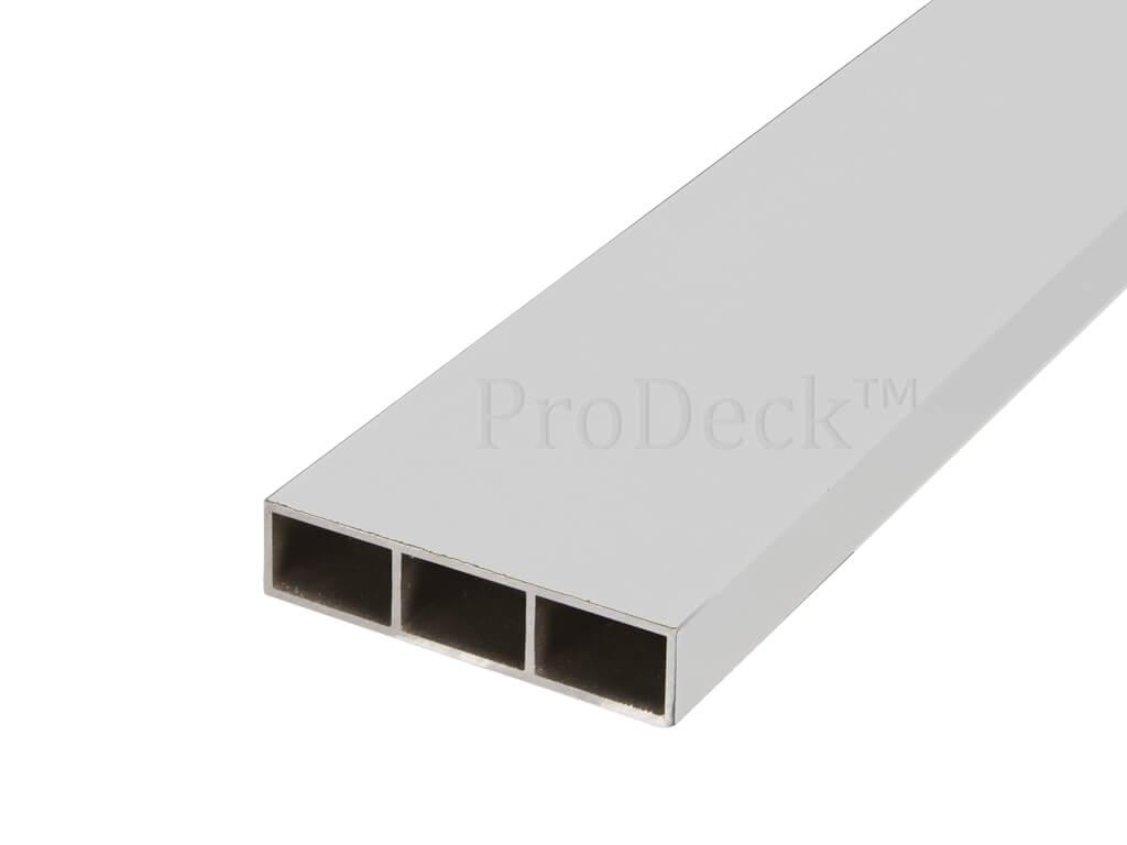 Dwarsbalk aluminium wit