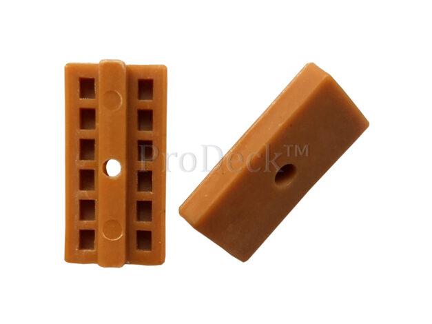 Clip 56 • kunststof • alleen geschikt voor Duofuse vlonderplanken • bruin