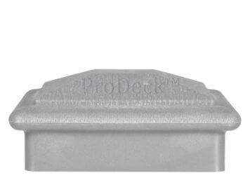 Afdekkap • kunststof • hoedje • aluminium • 10×10 cm