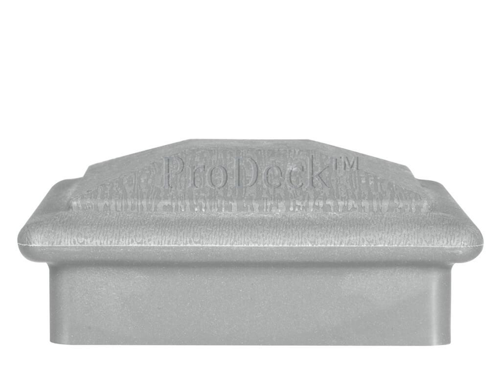 Afdekkap kunststof hoedje aluminium nieuw