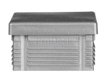 Afdekkap • kunststof • plat • aluminium • 7×7 cm