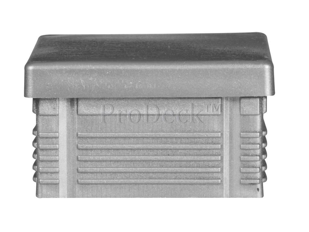Afdekkap kunststof plat aluminium 7x7