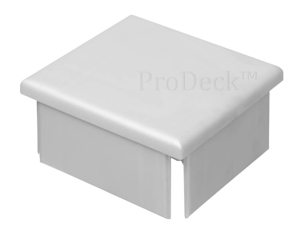 Afdekkap kunststof plat extra stevig aluminium 10x10