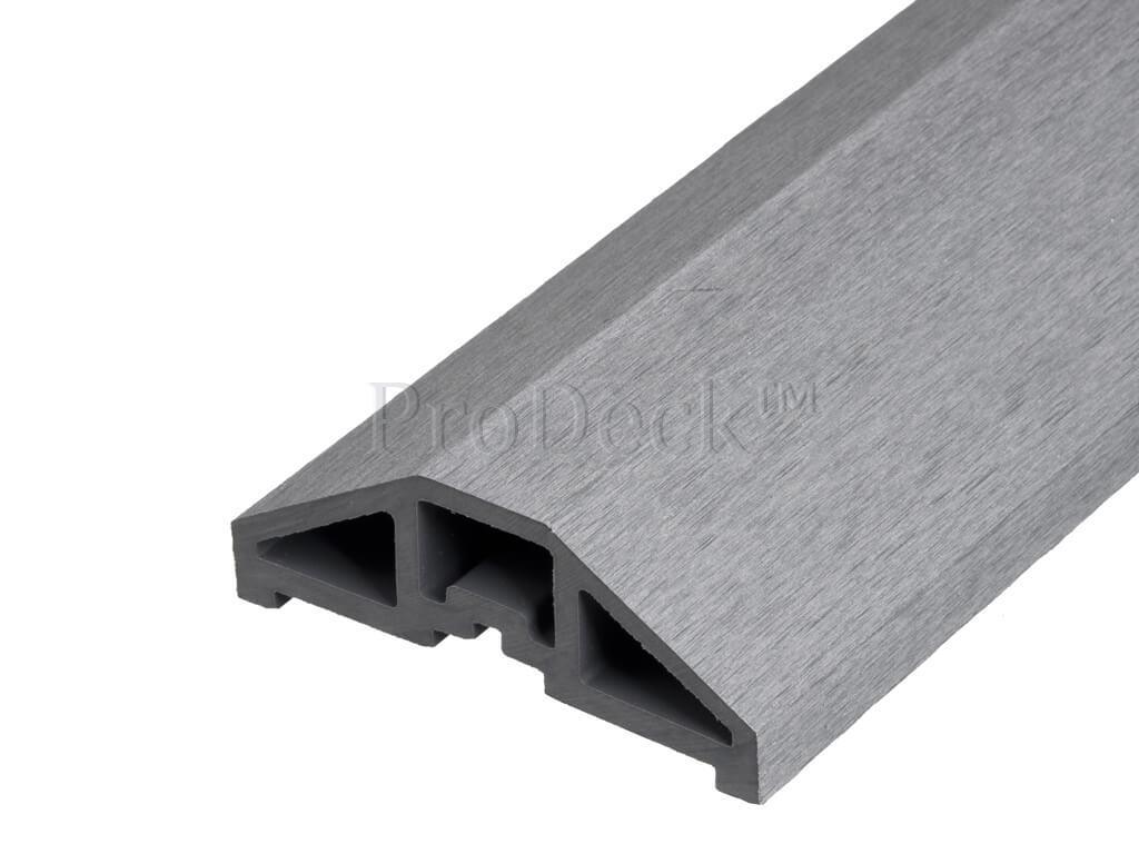 Composiet afdekbalk grijs