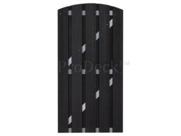 Deur • composiet • toogdeur • antraciet • aluminium dwarsbalken • 90×190 cm