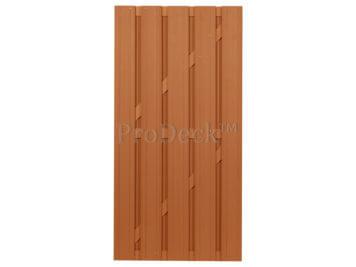 Deur • composiet • bruin • bruin gecoate aluminium dwarsbalken • 90×180 cm