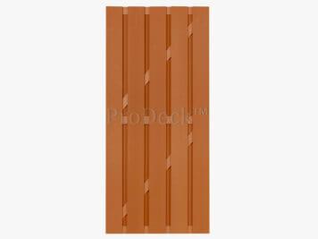 Deur • composiet • bruin • bruin gecoate aluminium dwarsbalken • 90×200 cm