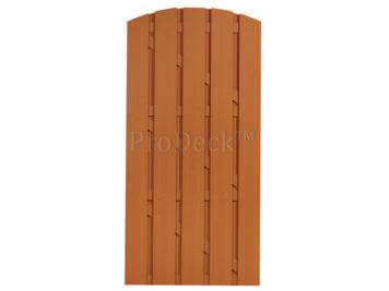 Deur • composiet • toogdeur • bruin • bruin gecoate aluminium dwarsbalken • 90×190 cm