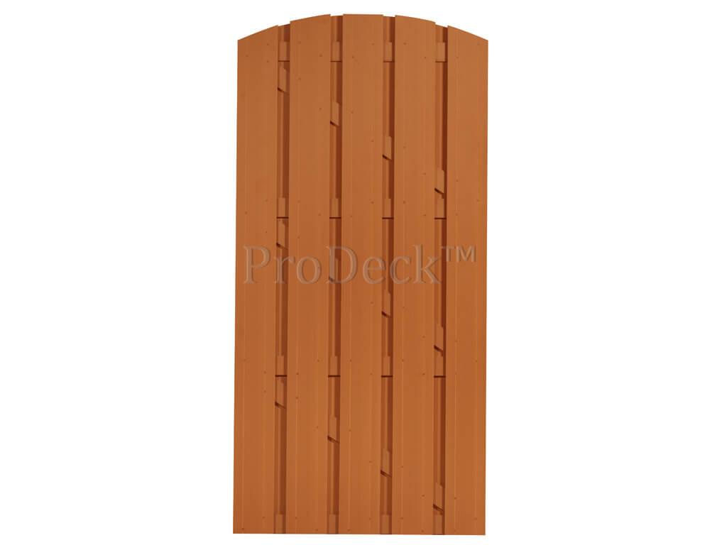 Composiet deur bruin bruin toog