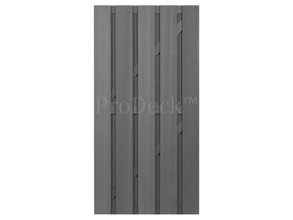 Composiet deur grijs antraciet
