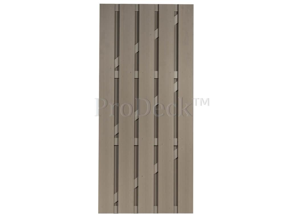 Composiet deur vergrijsd bruin vergrijsd bruin 90x200