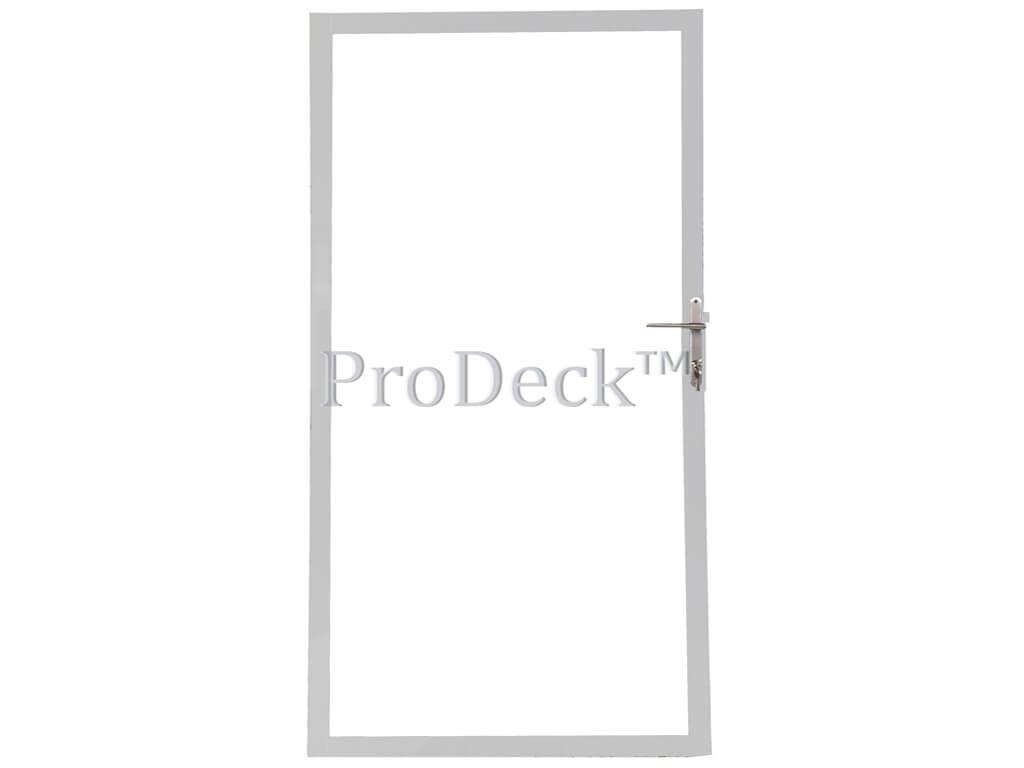 Deur stalen frame gegalvaniseerd voor stapelplanken 100x180