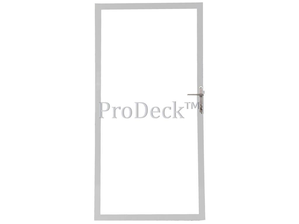Deur stalen frame gegalvaniseerd voor stapelplanken 90x180