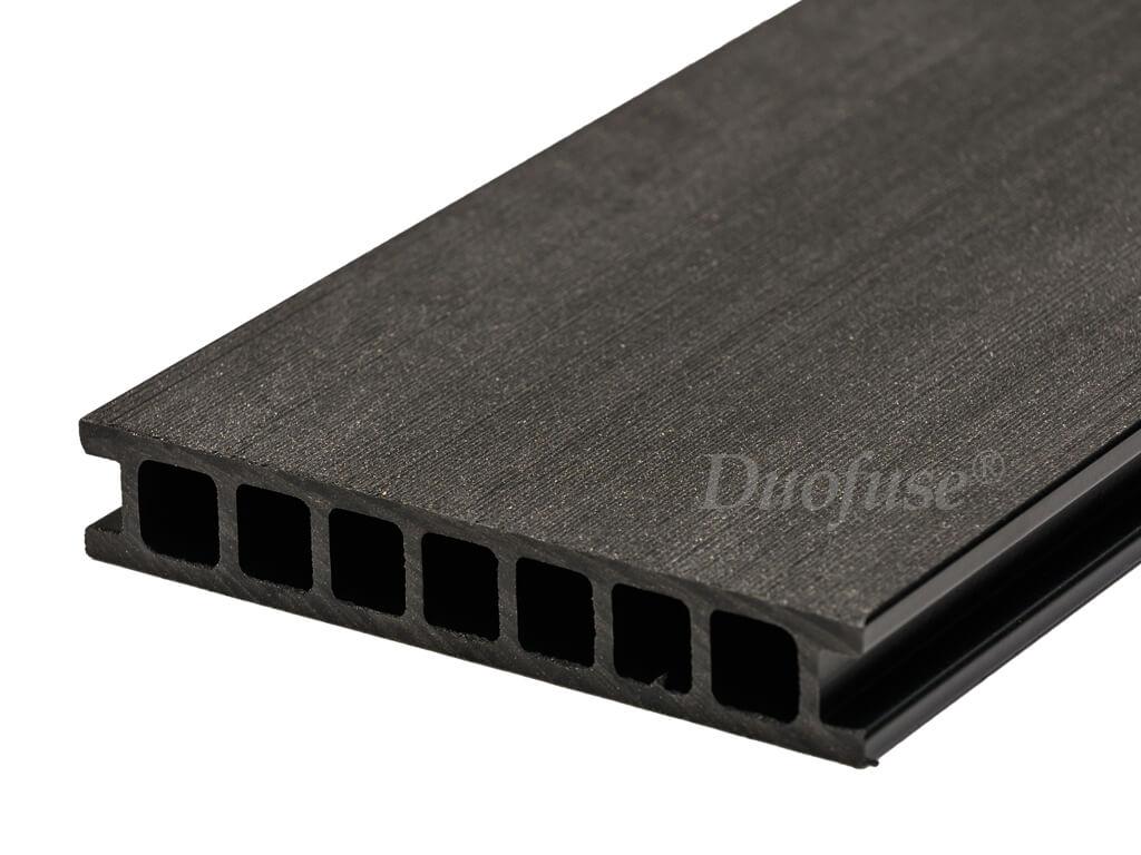 Duofuse holkamer graphite black egaal