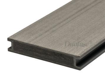 Duofuse • vlonderplank • volkamer • composiet • stone grey • 400×16,2×2,8 cm • egaal