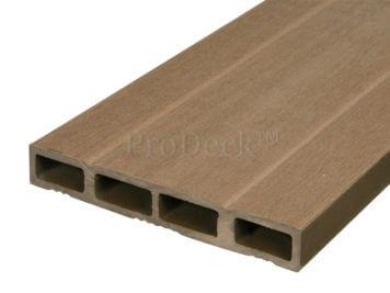 Deurplank • composiet • bangkiraibruin • 180 cm