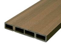 Composiet deurplank bankiraibruin achterkant