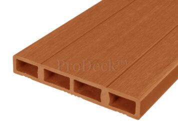 Deurplank • composiet • bruin • 180 cm