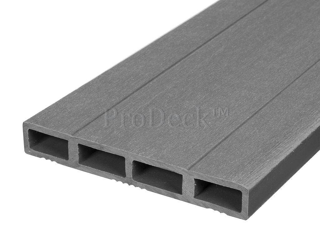 Composiet deurplank grijs