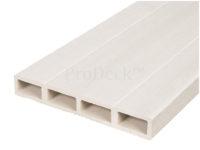 Composiet deurplank ivoorwit