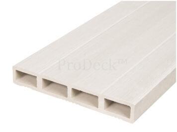 Deurplank • composiet • ivoorwit • 180 cm