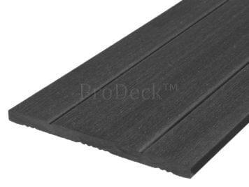 Schuttingplank • composiet • antraciet • 180 cm