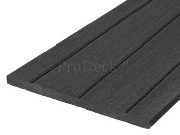 Schuttingplank • composiet • XL • antraciet • 180 cm