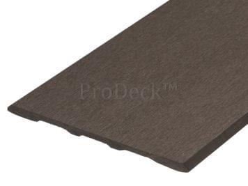 Schuttingplank • composiet • donkerbruin • voor basic schuttingen • 180 cm