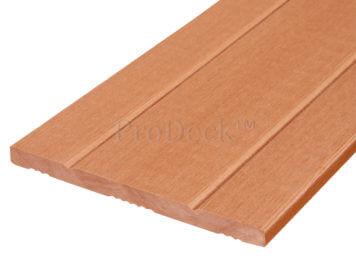 Schuttingplank • composiet • bruin • 180 cm