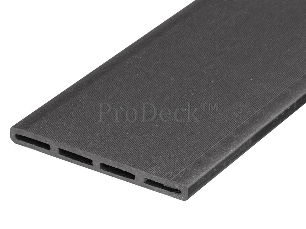 Composiet schuttingplank maxi 10 mm antraciet