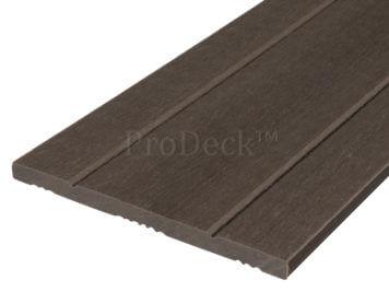 Schuttingplank • composiet • vergrijsd bruin • 180 cm