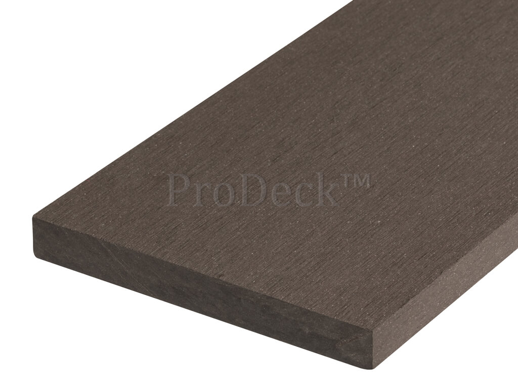 Massief composiet plank donkerbruin