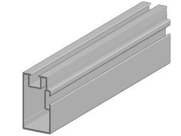 Onderbalk • aluminium • Aslon® • 400x4x7,5 cm