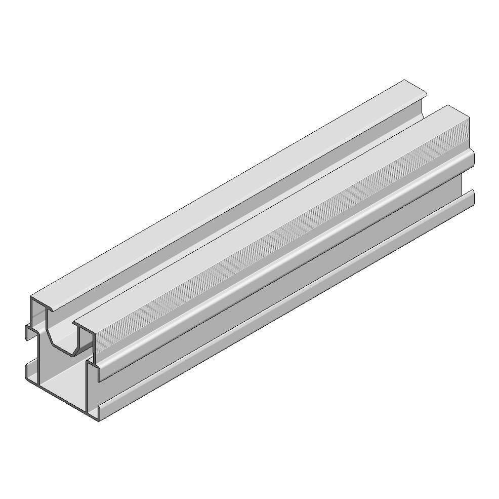Aslon aluminium balk 4x4 cm