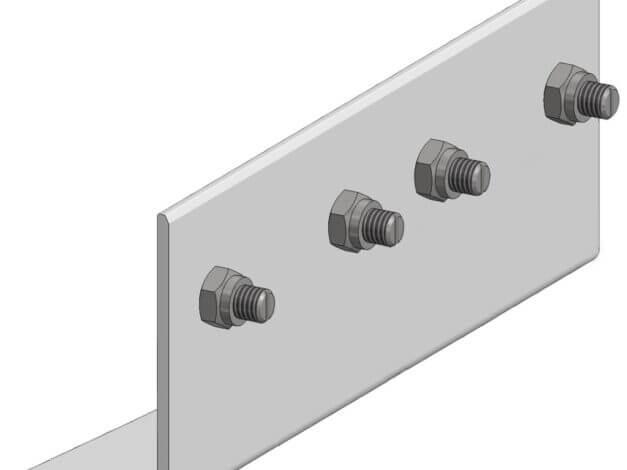 Koppelstuk • voor Aslon® aluminium onderbalk 4 x 7,5 cm