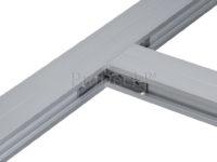Onderbalk aluminium montagehoek