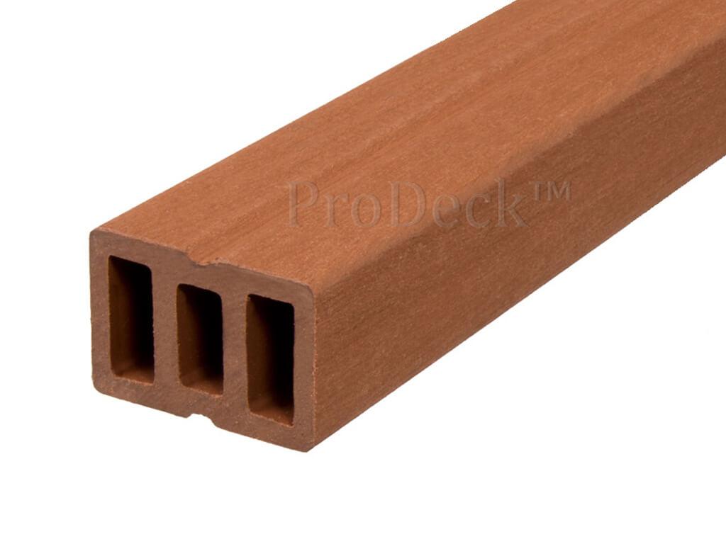 Onderbalk Composiet Bruin 400x6x4 Cm Woodcomposiet