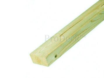 Onderbalk • geïmpregneerd grenen • 300x7x4,5 cm • geschaafd