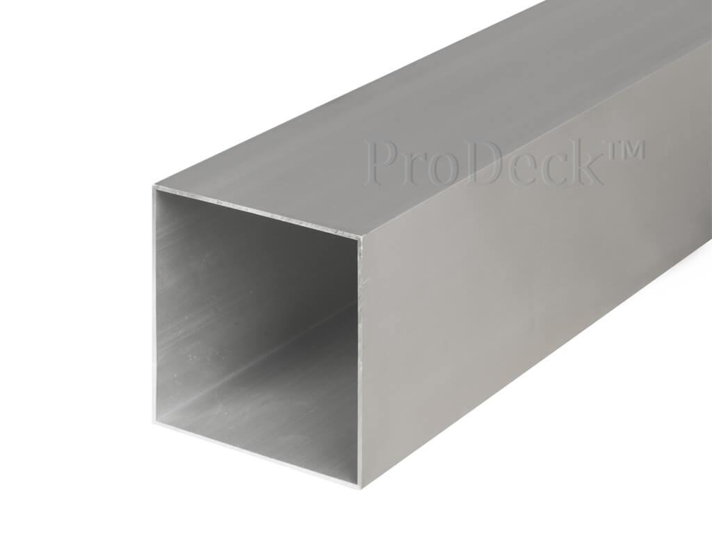 Schuttingpaal aluminium aluminium 10x10