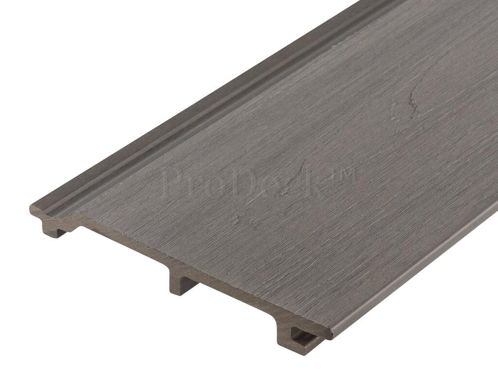 Composiet rabatplank extra hoog grijs