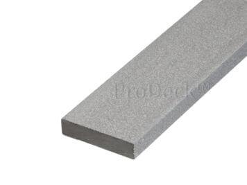 Randafwerklijst • composiet • inox • 200x7x1,6 cm