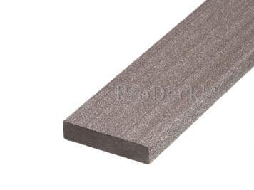 Randafwerklijst • composiet • palisander • 200x7x1,6 cm