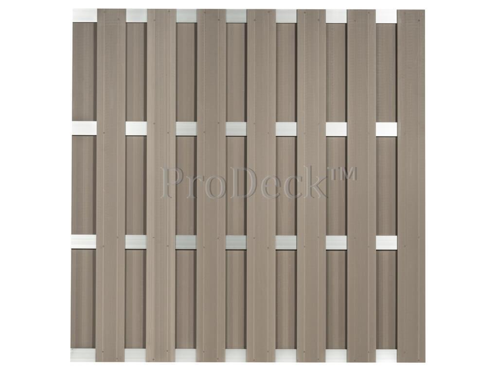 composiet-schutting-vergrijsd-bruin-aluminium