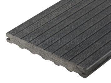 Vlonderplank • massief composiet • eben • 400×19,5×2,2 cm • Max Line