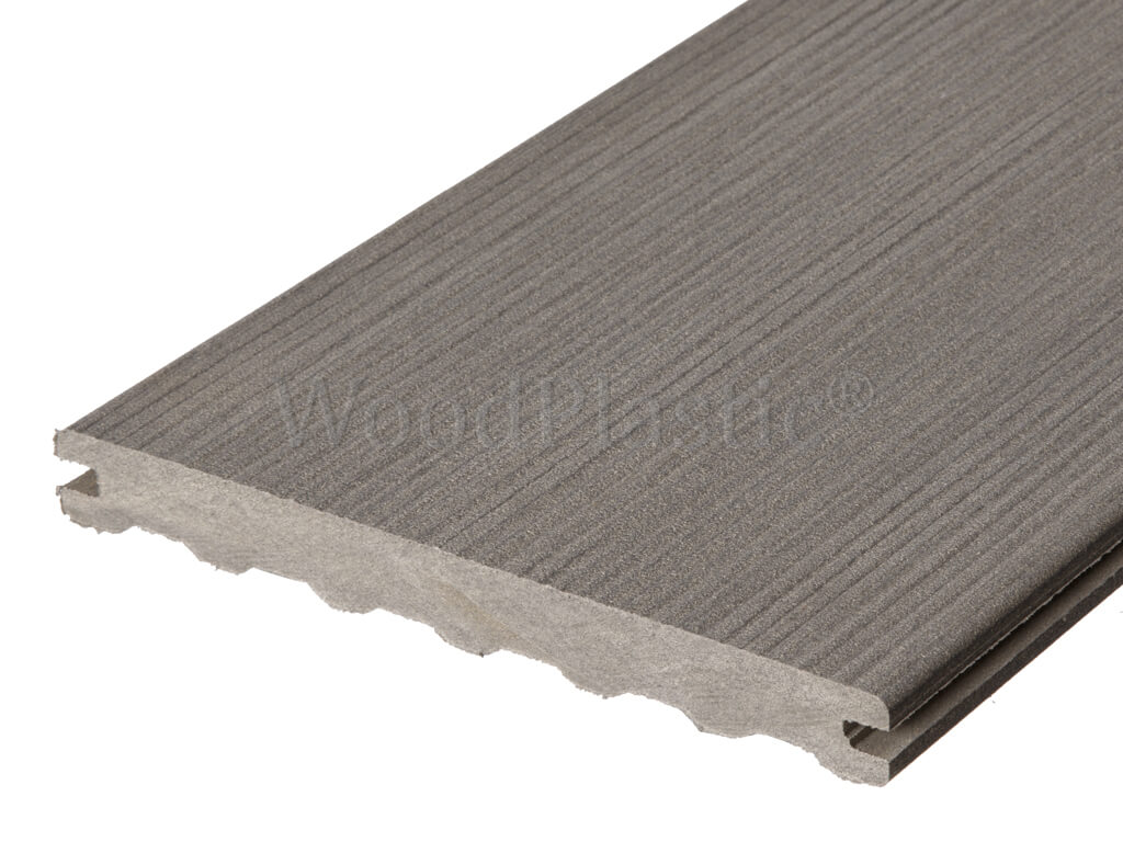 Massief composiet vlonderplank max forest inox