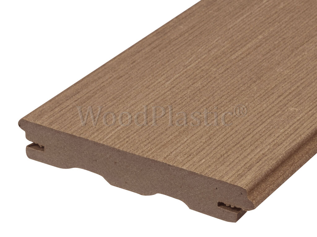 Massief composiet vlonderplank teak top