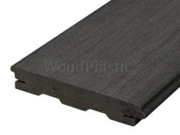 Vlonderplank • massief composiet • eben • top • 400x14x2,2 cm • verdekte naad
