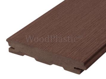 Vlonderplank • massief composiet • palisander • Rustic Top • 400x14x2,2 cm • verdekte naad